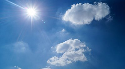 Με τοπικές μπόρες αποχαιρετά ο «Αντίνοος» - Μικρή άνοδος της θερμοκρασίας