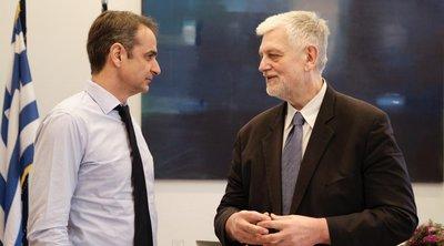 Υποψήφιος με τη ΝΔ ο δημοσιογράφος Γ. Λοβέρδος - Το τετ α τετ με Μητσοτάκη