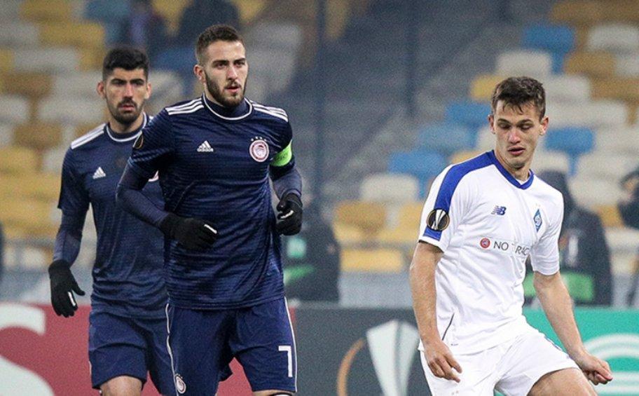 Ήττα 1-0 και αποκλεισμός για τον Ολυμπιακό από τη Ντιναμό στο Κίεβο
