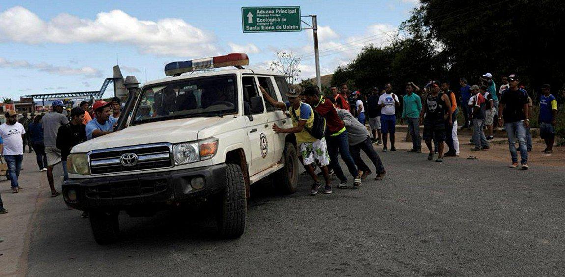 Χάος στη Βενεζουέλα - O Mαδούρο έκλεισε τα σύνορα με τη Βραζιλία