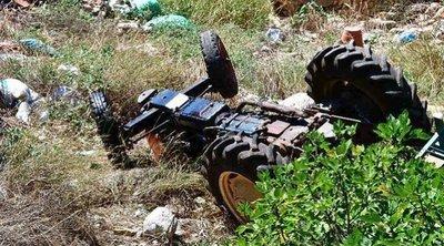 Αχαΐα: Δεύτερο δυστύχημα με τρακτέρ - Νεκρός 60χρονος που αγνοείτο από την Κυριακή