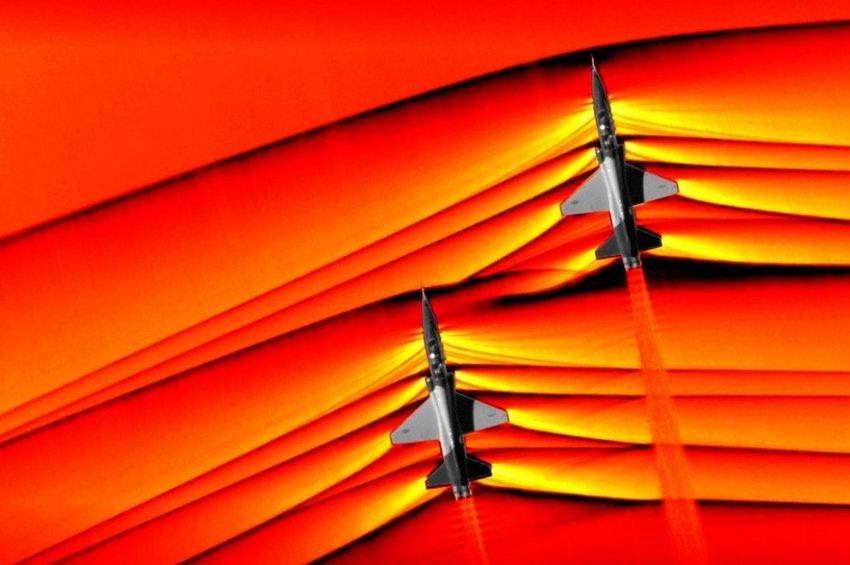 NASA: Δείτε μαχητικά αεροσκάφη να «σπάνε» το φράγμα του ήχου