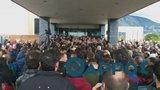 Ένταση στο συνέδριο της ΓΣΕΕ στην Καλαμάτα