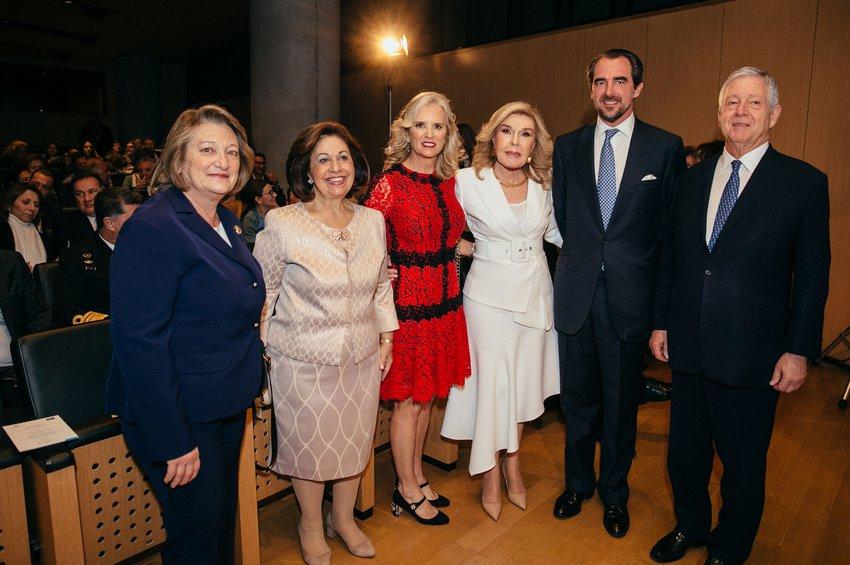 Σίσσυ Παυλοπούλου, Πριγκίπισσα Αικατερίνη, Kerry Kennedy, Μαριάννα Β. Βαρδινογιάννη, Πρίγκιπας Νικόλαος, Πρίγκιπας Αλέξανδρος