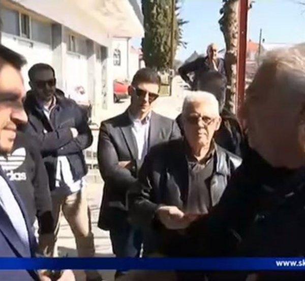 Με συνθήματα «Προδώσατε τη Μακεδονία» υποδέχθηκαν τον Νίκο Παππά κάτοικοι του Κιλκίς