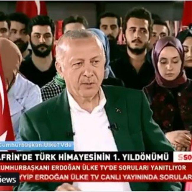 Νέο εθνικιστικό παραλήρημα από Ερντογάν – Τι είπε για την Αγιά Σοφιά