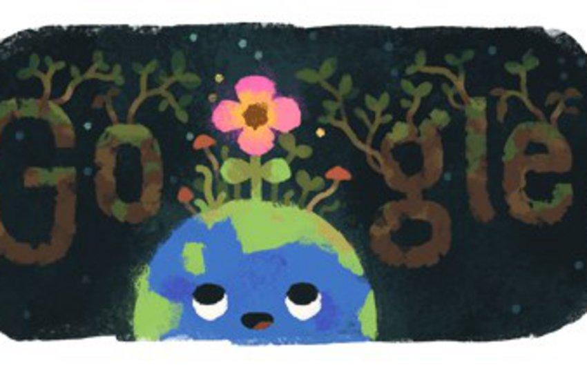 Στην έναρξη της Άνοιξης αφιερωμένο το doodle της Google