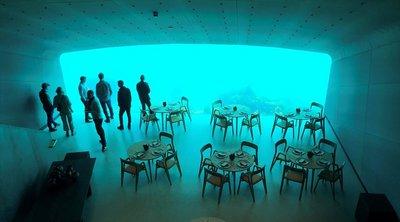 Νορβηγία: Φαγητό με θέα τον βυθό στο πρώτο υποβρύχιο εστιατόριο της Ευρώπης