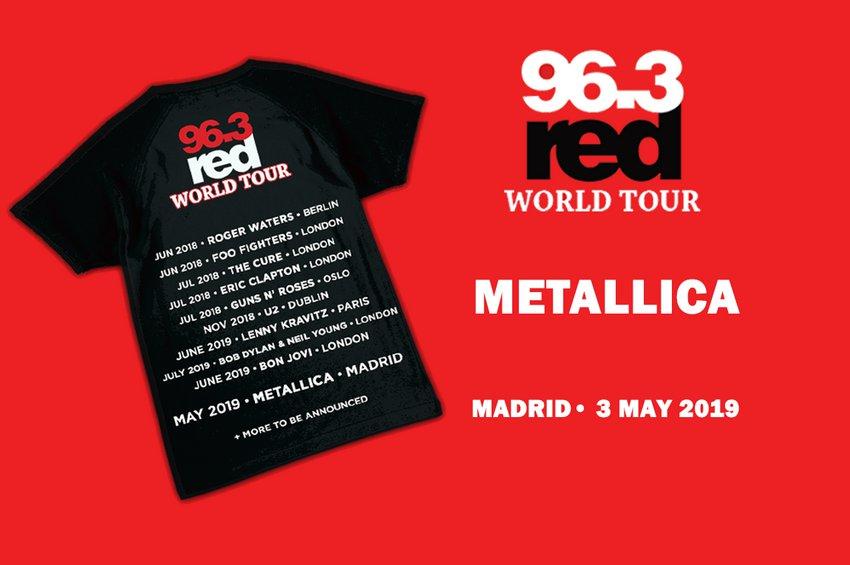 Διαγωνισμός Red World Tour: Metallica Live στη Μαδρίτη