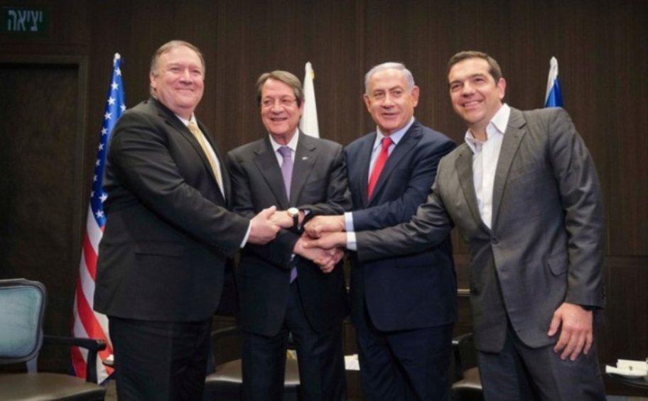 Οι ΗΠΑ στηρίζουν τον άξονα Ισραήλ, Ελλάδας και Κύπρου - Το μήνυμα στην Τουρκία