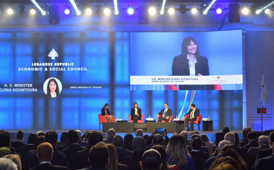 Η Ε. Κουντουρά παρουσίασε την επιτυχημένη στρατηγική της Ελλάδας στον τουρισμό σε κορυφαίο φόρουμ στο Λίβανο
