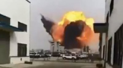 Κίνα: Ισχυρή έκρηξη σε χημικό εργοστάσιο