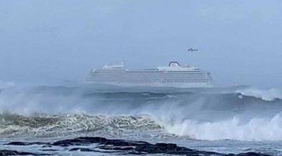 Συγκλονίζουν οι μαρτυρίες επιβατών του ακυβέρνητου κρουαζιερόπλοιου στη Νορβηγία: «Επικρατούσε χάος»