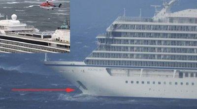 Ρυμουλκείται σε ασφαλές λιμάνι στη Νορβηγία το κρουαζιερόπλοιο - Διακόπηκε η επιχείρηση εκκένωσης