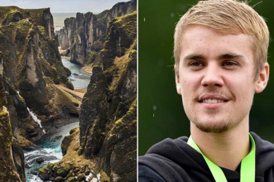 Φαράγγι στην Ισλανδία έκλεισε λόγω του... Τζάστιν Μπίμπερ