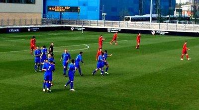 Εθνική Νέων: «Έσβησε» το όνειρο της πρόκρισης - Οδυνηρή ήττα 3-1 και αποκλεισμός από την Τσεχία