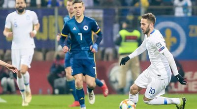 «Όρθια» με ανατροπή η Εθνική 2-2 στην Βοσνία