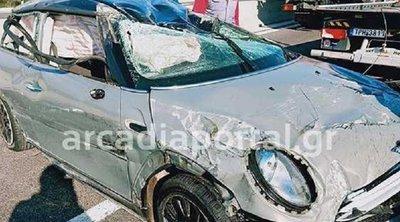 Θανατηφόρο τροχαίο στην Εθνική οδό Καλαμάτας-Τρίπολης