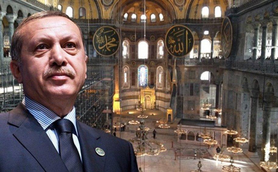 Οργή Ερντογάν για τις επικρίσεις: Κανείς δεν μπορεί να μας πει τι να κάνουμε με την Αγιά Σοφιά