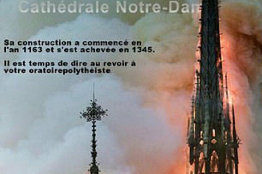 Ο ISIS πανηγυρίζει για την φωτιά στην Παναγία των Παρισίων