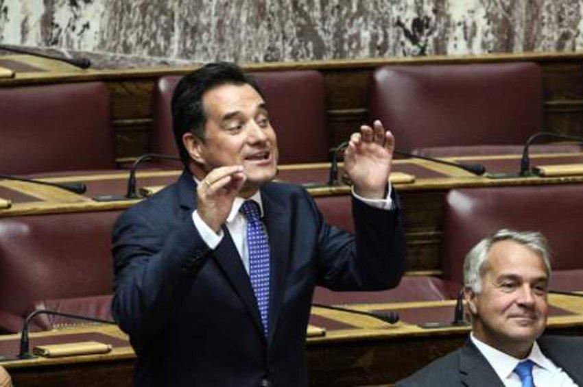 Στη Βουλή η συνέντευξη Μαρινάκη στον Realfm 97,8 - «Καρφιά» για ΣΥΡΙΖΑ από τον Αδωνη Γεωργιάδη