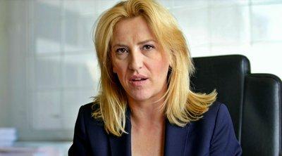 Η Ρένα Δούρου καταγγέλλει κακόβουλη εκστρατεία ομαδικών μηνυμάτων με προκλητικό και χυδαίο περιεχόμενο
