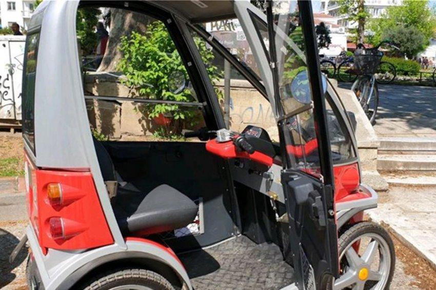 Τρίκαλα: Ηλεκτροκίνητα αυτοκίνητα στην πόλη