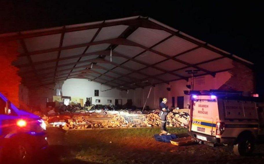 Κατέρρευσε εκκλησία στη Νότια Αφρική - Νεκροί και τραυματίες