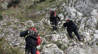 Αγωνιώδης επιχείρηση εντοπισμού πεζοπόρων σε φαράγγι στο Ξυλόκαστρο Κορίνθιας