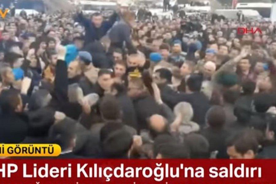 Αποδοκίμασαν τον Κιλιτσντάρογλου στην Άγκυρα