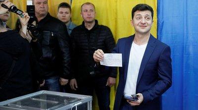 Νικητής των ουκρανικών εκλογών ο κωμικός Βολοντίμιρ Ζελένσκι