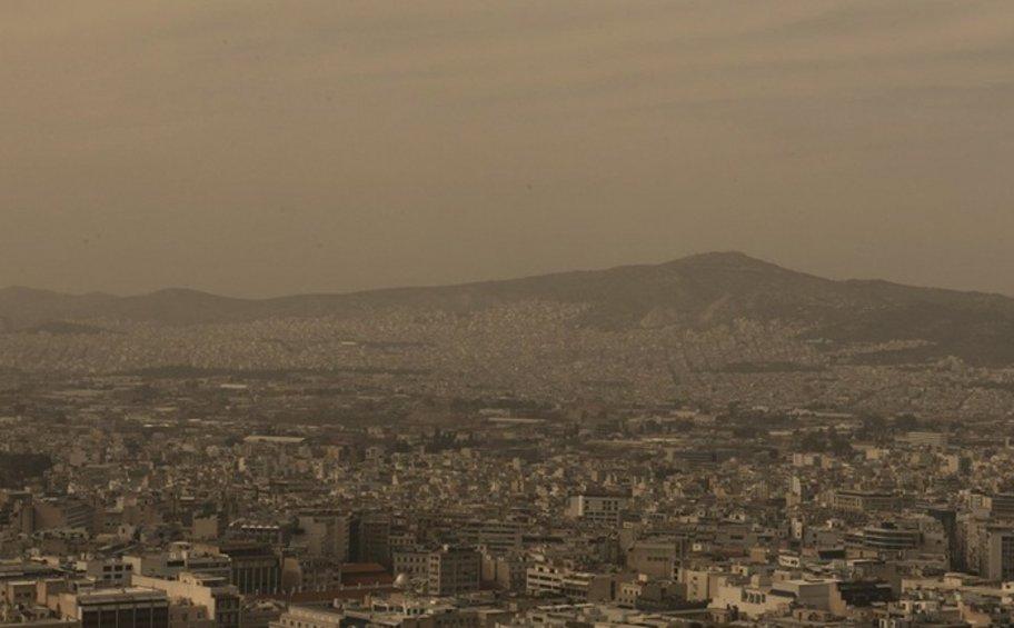 Η αφρικανική σκόνη «πνίγει» τη χώρα μέχρι και τη Μεγάλη Παρασκευή - Δορυφορικές εικόνες
