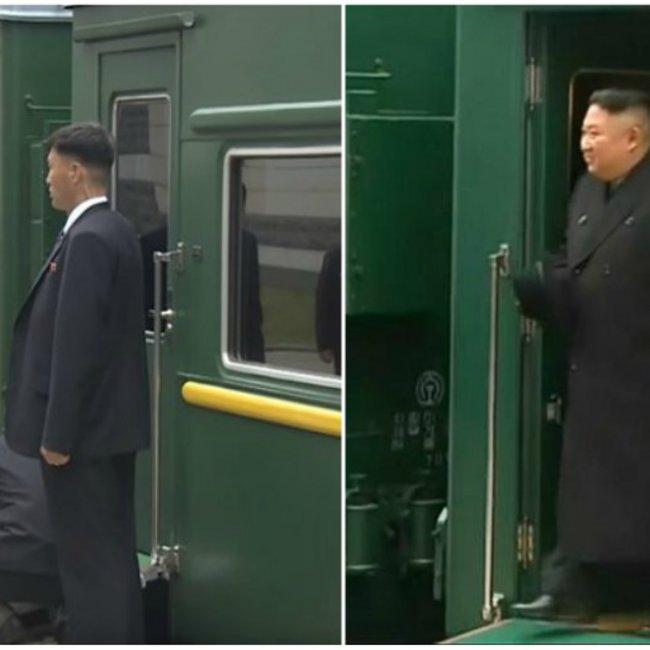 «Πάτησε» στη Ρωσία ο Κιμ Γιονγκ Ουν με το τρένο «φρούριο» - Το πρόβλημα με το κόκκινο χαλί