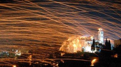Λιγότερο... εκρηκτικός ο ρουκετοπόλεμος στη Χίο