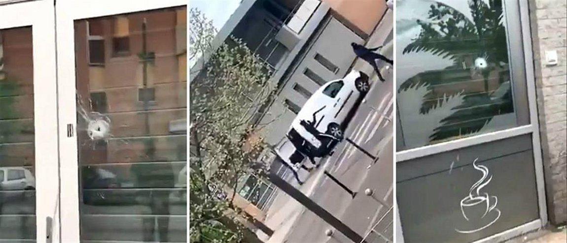 Ένοπλοι άνοιξαν πυρ σε καφετέρια στη βόρεια Γαλλία