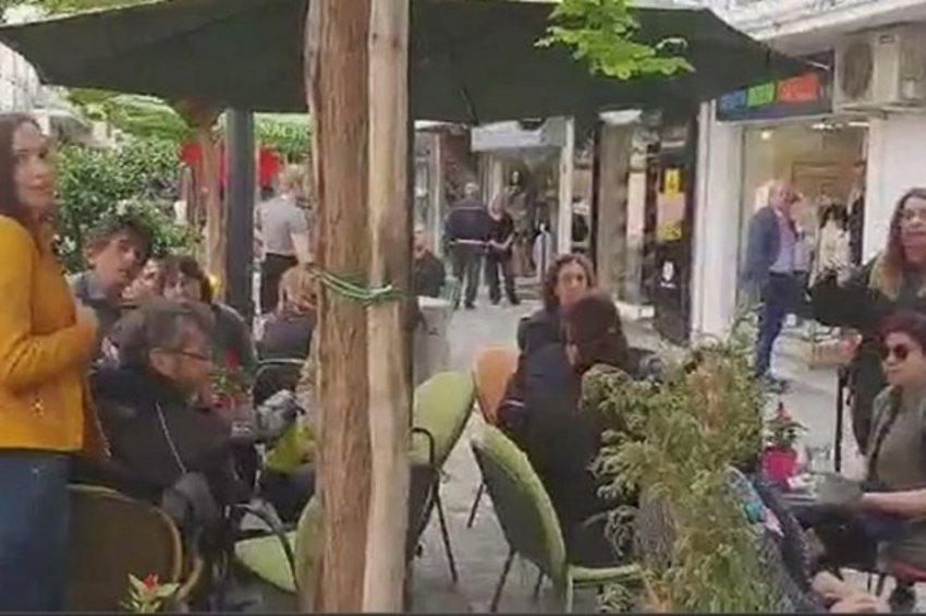 Επεισόδιο με τον Καρανίκα σε καφετέρια της Θεσσαλονίκης για τη Συμφωνία των Πρεσπών