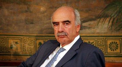 Μεϊμαράκης: Για μένα η ηθική στην πολιτική ήταν και είναι αξιακός κανόνας - Η επιστολή παραίτησης