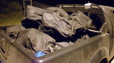 Αλλοδαποί φορτωμένοι με 122 κιλά χασίς συνελήφθησαν σε δάσος της Θεσπρωτίας