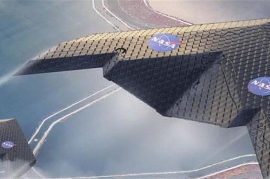 Εύκαμπτα φτερά αεροσκάφους αλλάζουν σχήμα κατά την πτήση