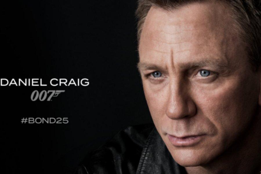 Αποκαλύφθηκε το καστ και ο τίτλος της 25ης ταινίας Τζέιμς Μποντ - Ο Ντάνιελ Κρεγκ για πέμπτη φορά 007