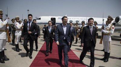 Στο Πεκίνο ο Τσίπρας για τον «Δρόμου του Μεταξιού» - Οι επαφές και η ατζέντα της ελληνοκινεζικής συνεργασίας