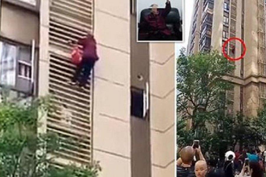 Βίντεο που κόβει την ανάσα: Ηλικιωμένη που πάσχει από Αλτσχάιμερ κατέβηκε 10 ορόφους!