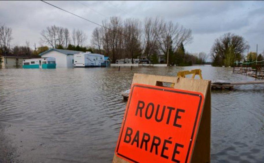 Σε κατάσταση έκτακτης η Οτάβα λόγω κινδύνου εκτεταμένων πλημμυρών