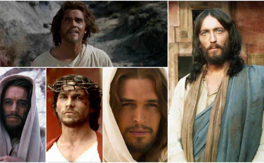 Οι «μορφές» του Ιησού Χριστού στο «πανί» και οι ηθοποιοί που τους υποδύθηκαν στη μεγάλη και μικρή οθόνη