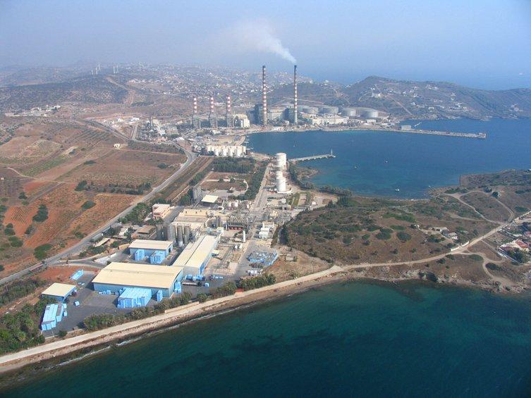 Εργοστάσιο Ravago Lavrion (πρώην εργοστάσιο Dow) στο Λαύριο