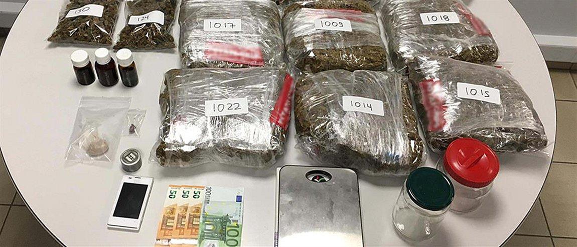 Συνελήφθη μέλος οργανωμένου κυκλώματος διακίνησης ναρκωτικών - Θα έριχνε στην «πιάτσα» μεγάλη ποσότητα