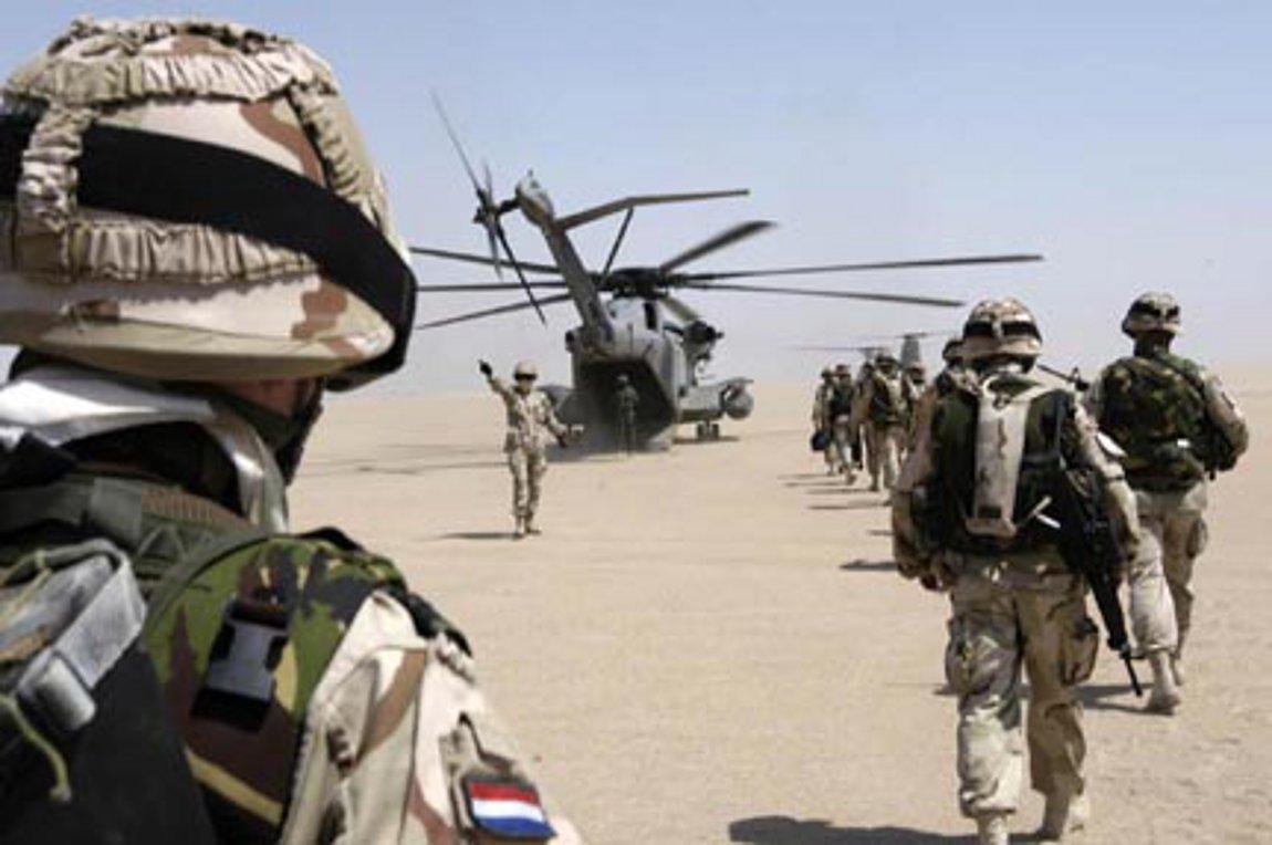 Μετά την Γερμανία και η Ολλανδία αναστέλλει την εκπαίδευση των ιρακινών ενόπλων δυνάμεων στο Ιράκ