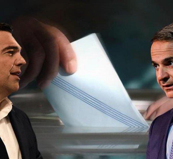Δημοσκόπηση: Δείτε τη διαφορά ΝΔ-ΣΥΡΙΖΑ - Tι πιστεύει η πλειοψηφία για την υπόθεση Novartis