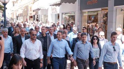 Μητσοτάκης από Κρήτη: Την επόμενη Κυριακή το πρώτο βήμα για μία μεγάλη πολιτική αλλαγή θα έχει γίνει