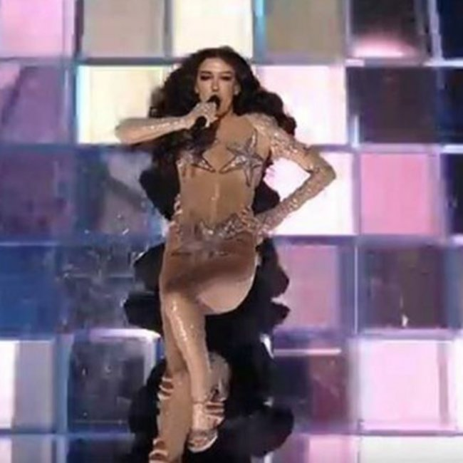 Eurovision 2019: Η εκρηκτική εμφάνιση της Ελένης Φουρέιρα